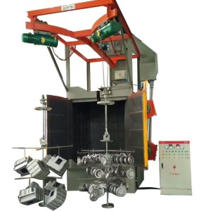 Hook Type Shot Blasting Cleaning Machines