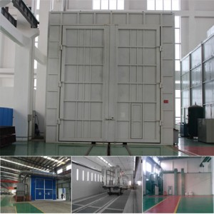 China OEM Air Blast Rooms Manufacturer -