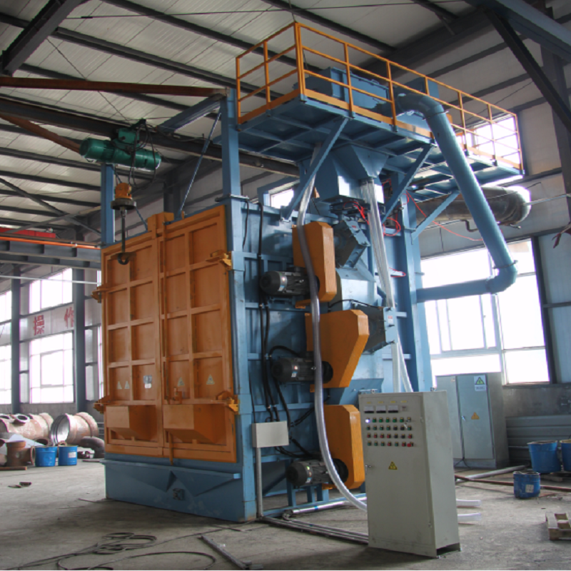Wholesale Price China Puhua Q37 Single Hook Shot Blasting Machine/spinner Hanger Shot Blast Machine