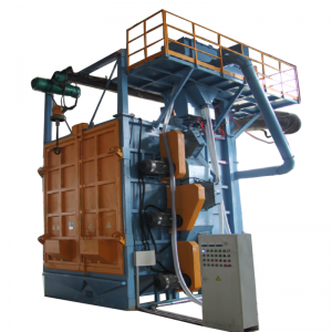 Hanger type Shot Blasting Machine for Auto Parts