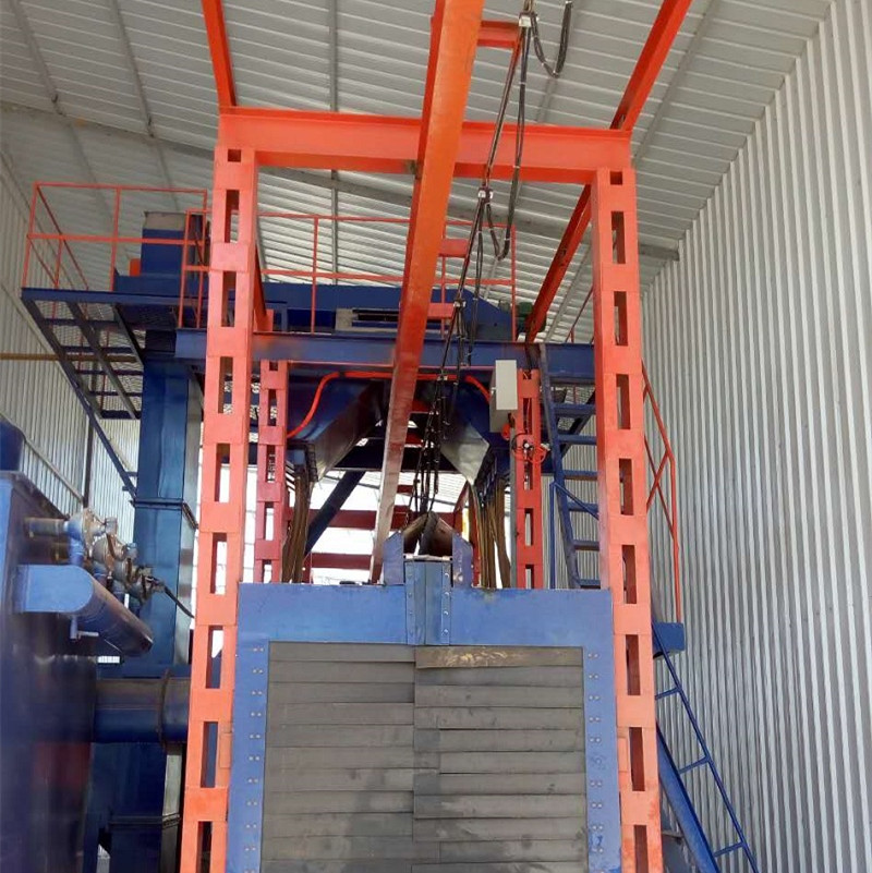 Low MOQ for Steel Wire Rod Shot Blasting Cleaning Machine -