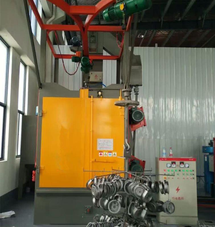 High Quality Shot Blast Cleaning Machine - Hanger type Shot Blasting Machine for Auto Parts – DX-BLAST