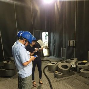Mechanical Recycling Sand Blasting Booth