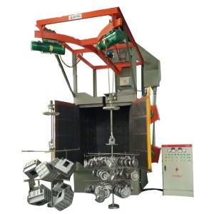 Hanger type Shot Blasting Machine for Auto Parts