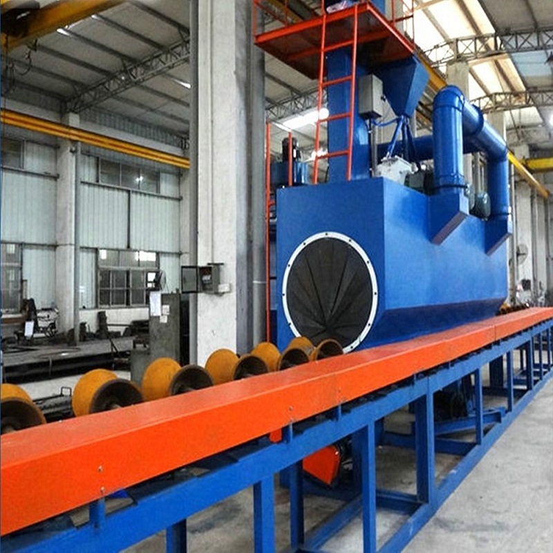 Renewable Design for Tumble Shot Blasting Machine -