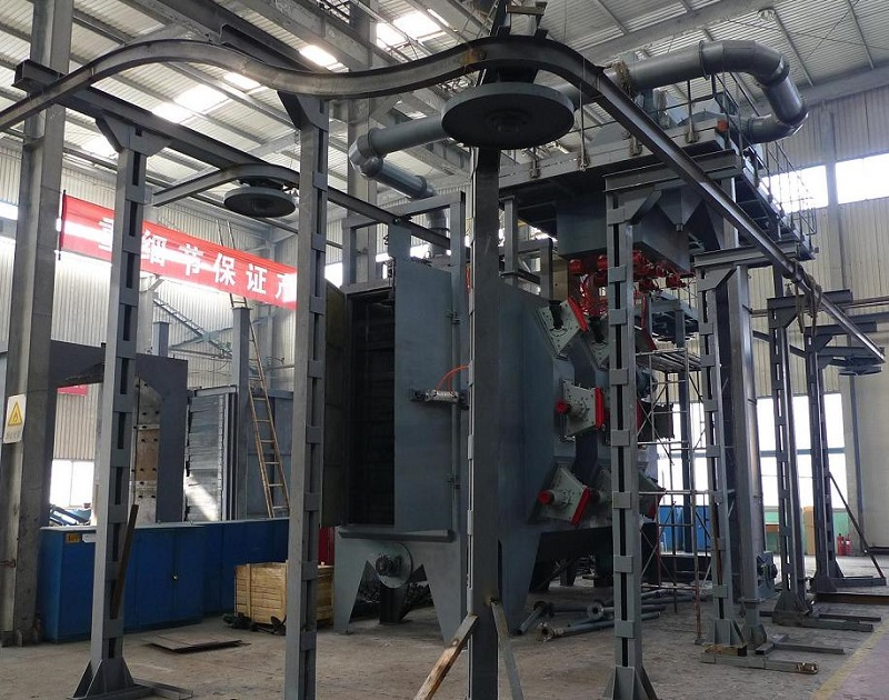 Factory Promotional Concrete Floor Shot Blasting Machine -