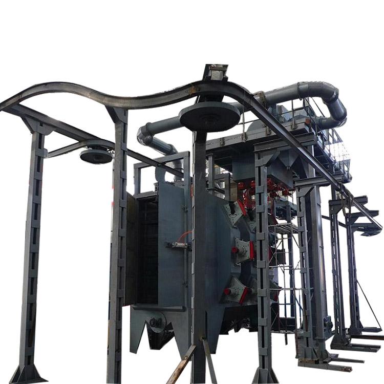 OEM Manufacturer Abrasive Blasting Equipment - Continuous Monorail Hanger Shot Blasting Machines – DX-BLAST