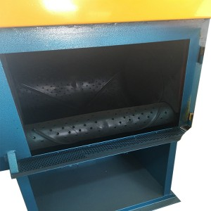 2020 High quality Tumble Belt Cast Parts Shot Blasting Machine -