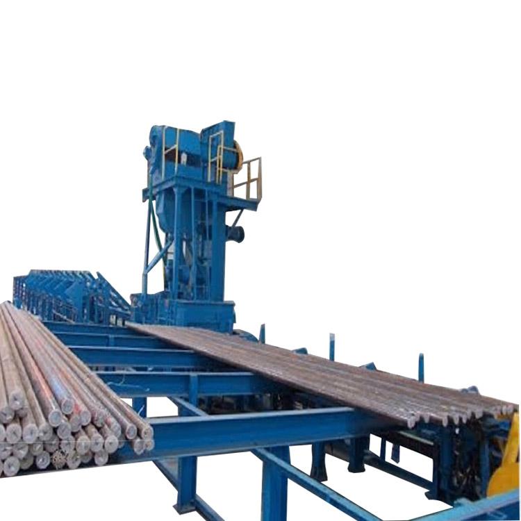 China Wholesale Grit Blast Machine Factories - Multiple Shot Blasting Machines for Steel Bars – DX-BLAST