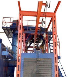 Discount wholesale China Mayflay Steel Structures Shot Blasting Machines for Steel Plate, I Beam, H Beam Rust Removal Cleaning