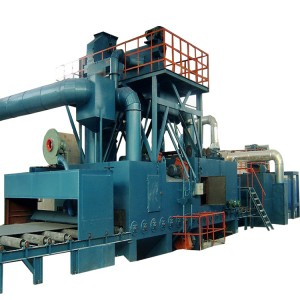 New Arrival China China Q76 Series Bogie Type Shot Blasting Machine, Rust Removing Equipment