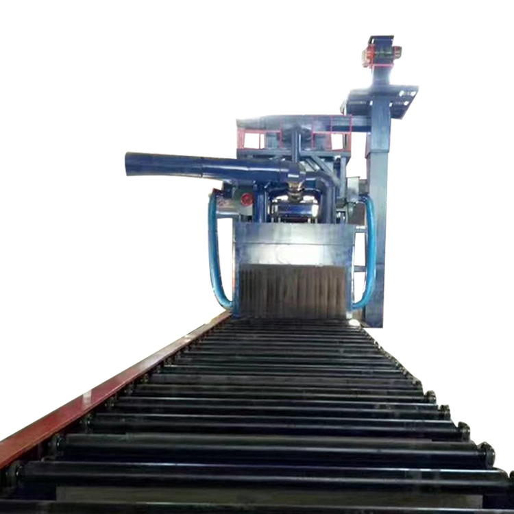 Rebar shot blasting machine-2