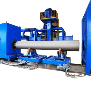 Steel Pipe Internal & External Shot Blasting Cleaning Machines