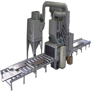 Steel Plate Shot Blasting Machines for Profiling
