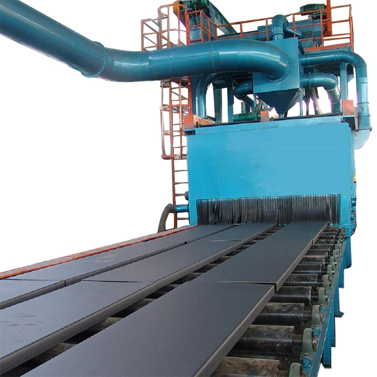 professional factory for Pipe Shot Blasting Machine - Steel Plate Shot Blasting Machines for Profiling – DX-BLAST