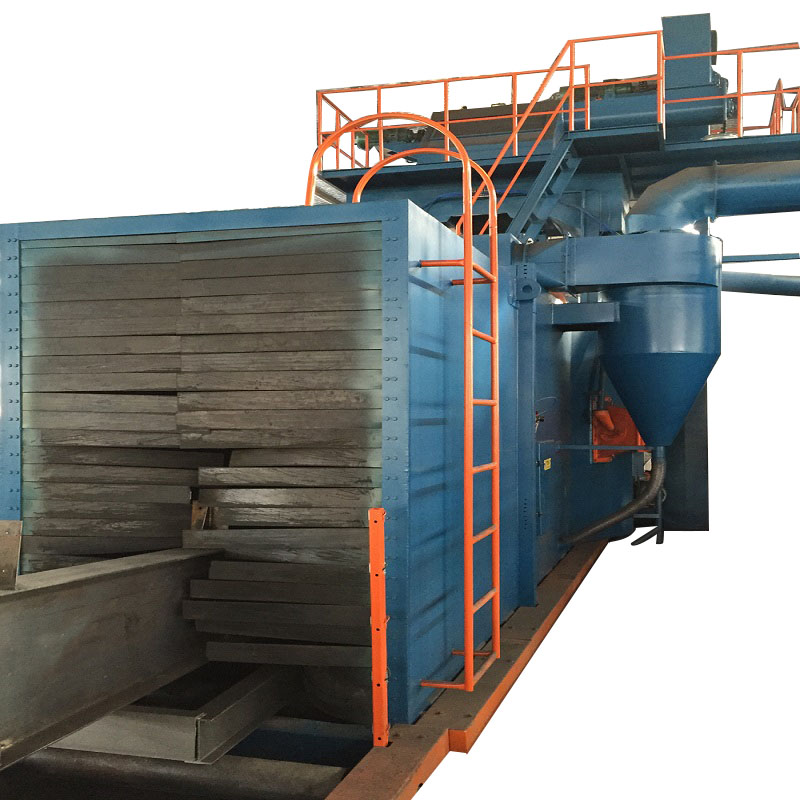 Steel Structure Shot Blasting Machines for Welded Structure-2