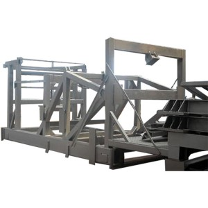 Steel Structure Shot Blasting Machines for Welded Structure