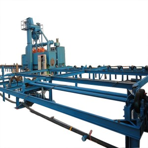 Steel Tube Shot Blasting Machines for Inner Wall