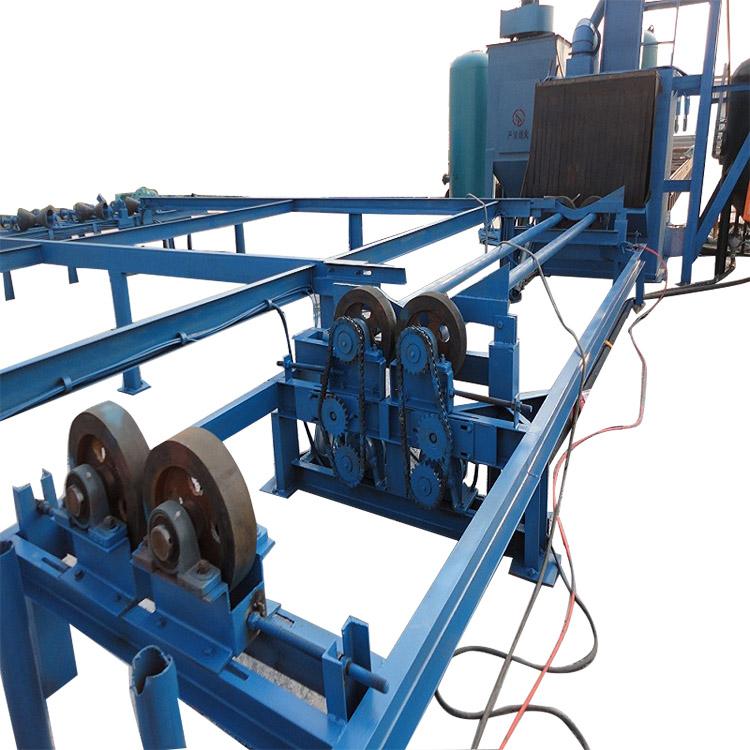 One of Hottest for Steel Plate Shot Blast Equipment - Steel Tube Shot Blasting Machines for Inner Wall – DX-BLAST