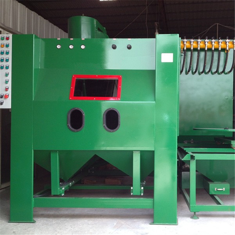 OEM Manufacturer Continuous Tumble Belt Blast Equipment -
