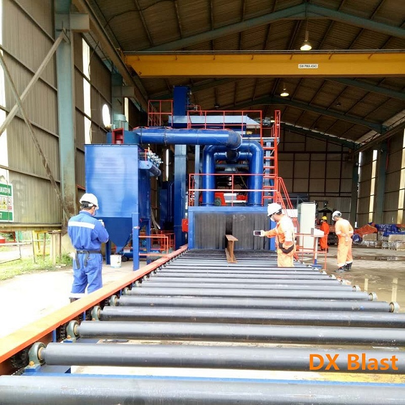 OEM Manufacturer Steel Pipe Shot Blasting Machine