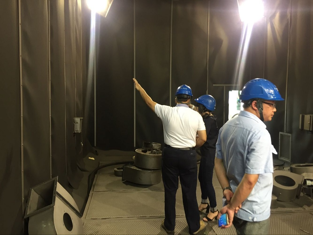 Installation of Blasting Room