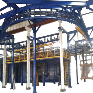 Continuous Monorail Hanger Shot Blasting Machines