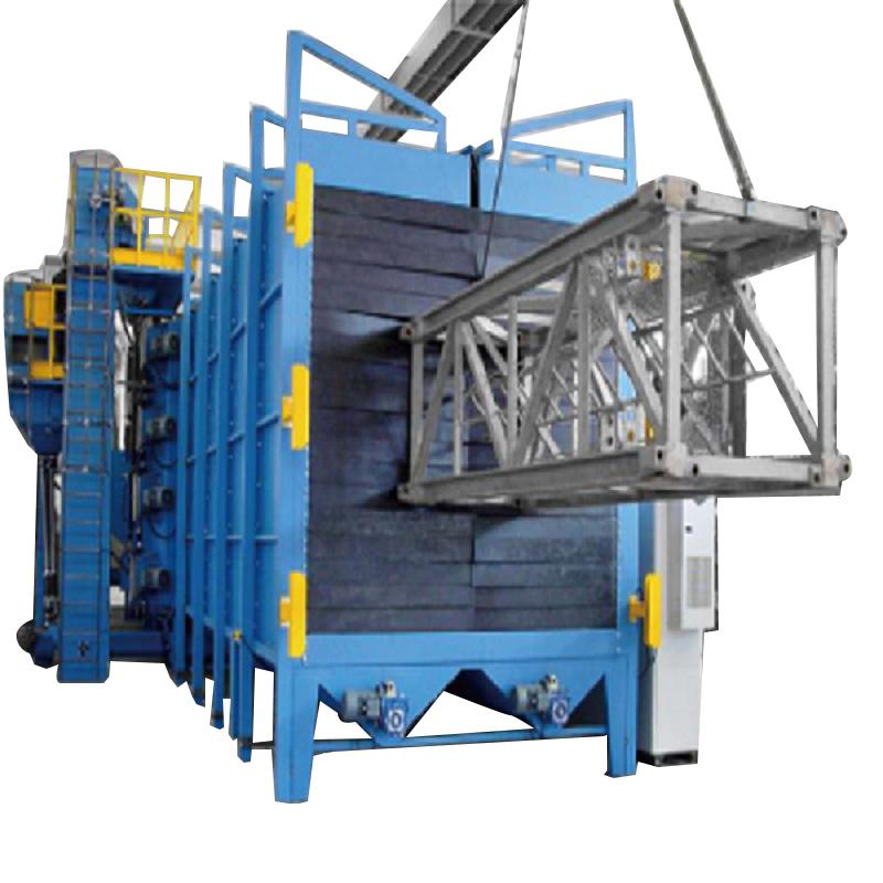 China Wholesale Hook Shot Blasting Machine - Agriculture Machinery Parts Shot Blasting Machine – DX-BLAST
