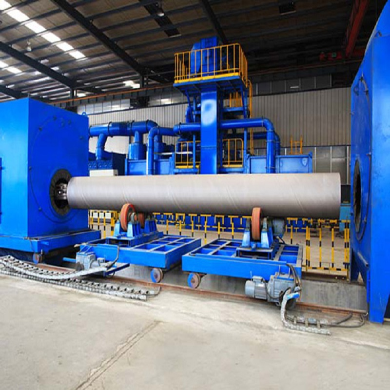 Manufacturer for Wholesale Blasting Peening Machine - Steel Pipe Internal & External Shot Blasting Cleaning Machines – DX-BLAST