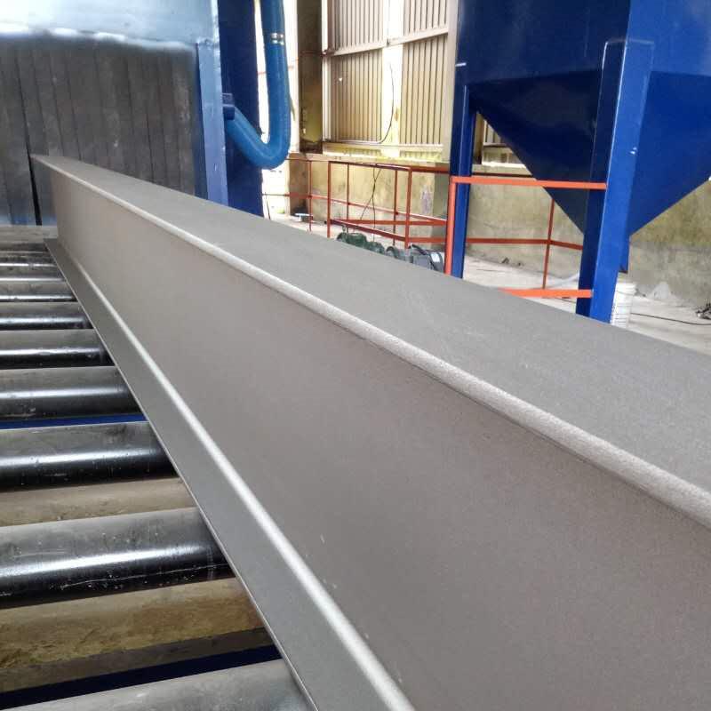 Reliable Supplier Floor Shot Blast Cleaning Machine - H beam shot blasting machines – DX-BLAST