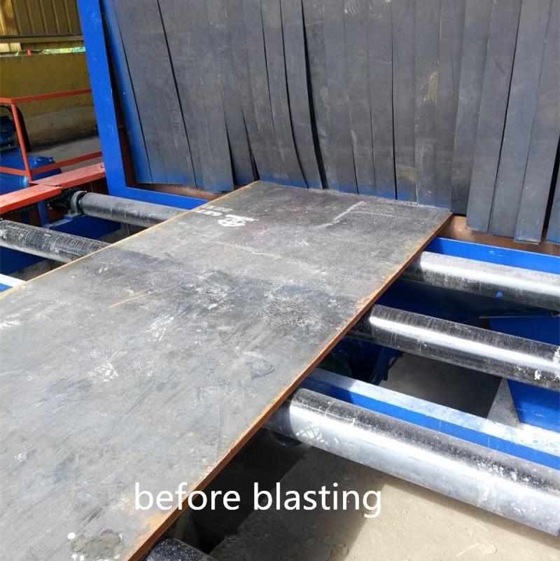 Factory Promotional Concrete Floor Shot Blasting Machine - steel plate shot blasting machine manufacturer – DX-BLAST