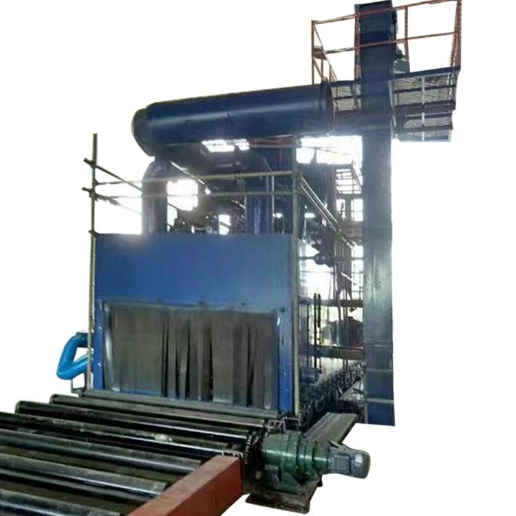 Factory supplied Turbine Sandblasting - Hot New Products Superior Steel Pipe Shot Blasting Machine – DX-BLAST